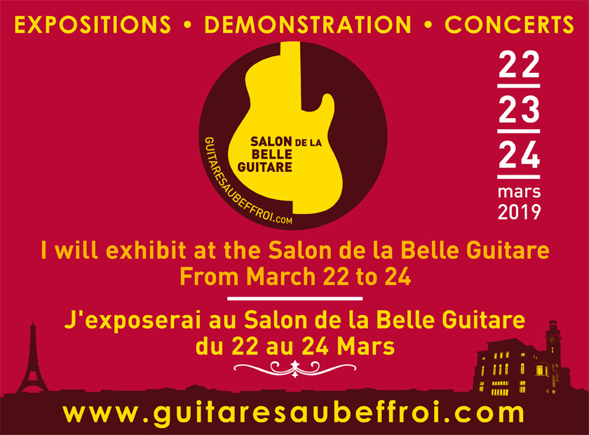Salon de la belle guitare 2019