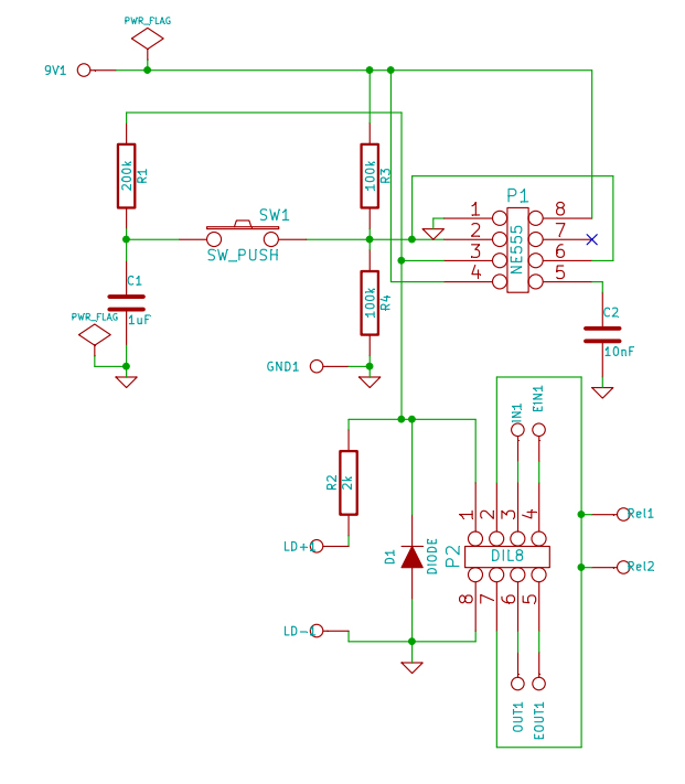 True relay byp with NE555 Flip-Flop - Zorg Effects on