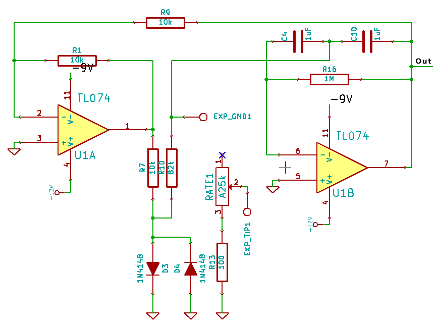 Final band pass oscillator
