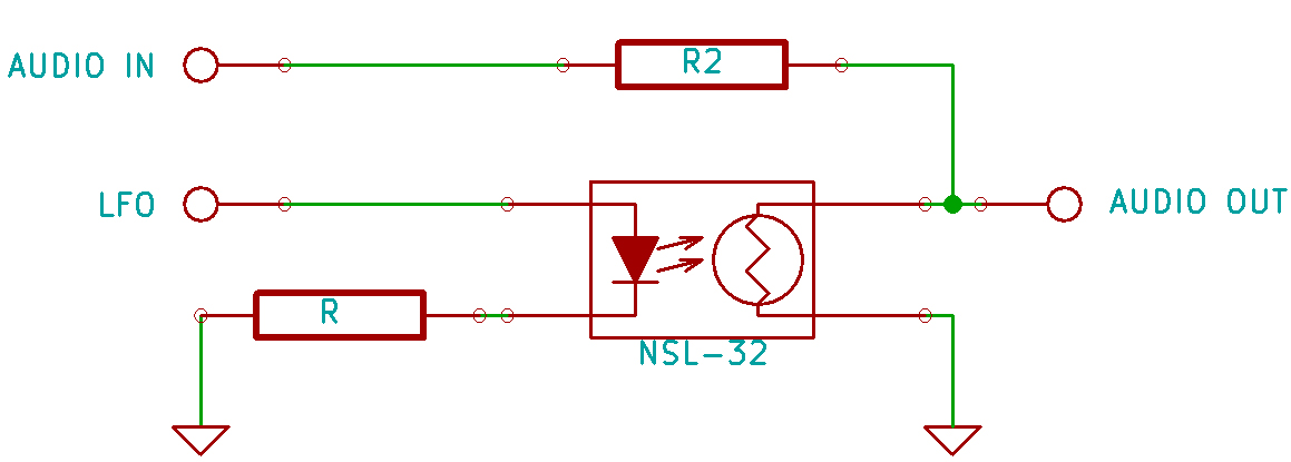 NSL32 controlled tension divider